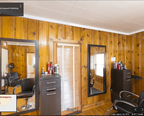Google Business View of beauty salon in Oriental, NC.